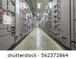 electrical switchgear... | Shutterstock . vector #562372864