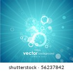 abstract blue sky background | Shutterstock .eps vector #56237842