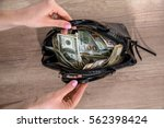 Girl Extract Dollars From The...