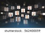 business  people  communication ... | Shutterstock . vector #562400059
