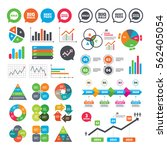 business charts. growth graph.... | Shutterstock .eps vector #562405054