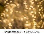 heart bokeh background  love... | Shutterstock . vector #562408648