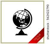 globe symbol.   Shutterstock .eps vector #562422790
