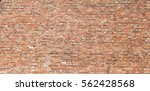 red brick wall texture urban... | Shutterstock . vector #562428568