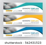 abstract web banner design... | Shutterstock .eps vector #562431523