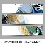 collection of artistic creative ... | Shutterstock .eps vector #562432294