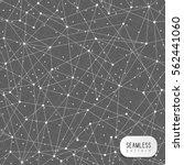 abstract network seamless... | Shutterstock .eps vector #562441060