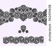 lace seamless pattern. | Shutterstock .eps vector #562454638