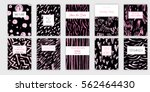 universal invitation templates. ... | Shutterstock .eps vector #562464430