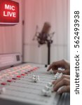 radio studio | Shutterstock . vector #562493938