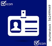 identification card icon....