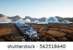 Mars Base  Colony. Expedition...
