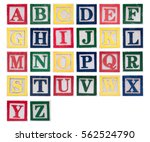 Alphabet In Red  Green  Yellow...