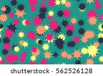 seamless chaotic pattern of... | Shutterstock .eps vector #562526128