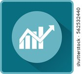 flat icon. financial graph | Shutterstock .eps vector #562532440