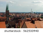 view of nuremberg from the... | Shutterstock . vector #562533940