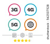 mobile telecommunications icons.... | Shutterstock .eps vector #562537528