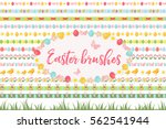 easter borders  ornament ... | Shutterstock .eps vector #562541944