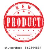"rubber stamp with text ""new... 