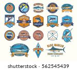 set of vector badges  stickers... | Shutterstock .eps vector #562545439
