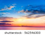 glowing paradise fiery backdrop  | Shutterstock . vector #562546303