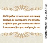 Vector Quote. But Together We...