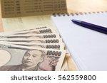 saving account passbpok ...   Shutterstock . vector #562559800
