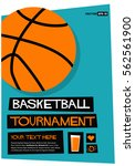 basketball tournament  flat... | Shutterstock .eps vector #562561900
