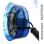 huge ventilation cool mist fan... | Shutterstock . vector #562570234