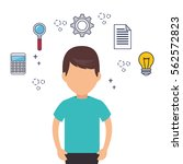 creative people our team | Shutterstock .eps vector #562572823