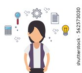 creative people our team | Shutterstock .eps vector #562573030
