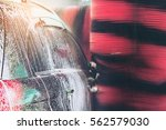 automatic car wash | Shutterstock . vector #562579030
