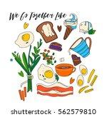 food | Shutterstock .eps vector #562579810