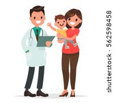 caring for the health of the... | Shutterstock .eps vector #562598458