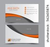 business card design set... | Shutterstock .eps vector #562605874
