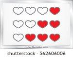 heart background.   Shutterstock .eps vector #562606006
