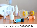 medical equipment and drugs for ... | Shutterstock . vector #562630354