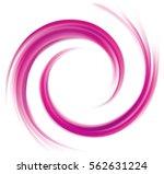 radial rippled curvy backdrop... | Shutterstock .eps vector #562631224