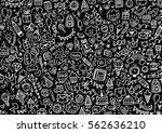 doodle  | Shutterstock . vector #562636210