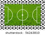 frame from footballs   Shutterstock . vector #56263810
