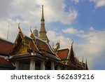 view of famous religion temple... | Shutterstock . vector #562639216