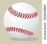 Vector Illustration. Baseball...