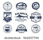 set of vector badges  stickers...   Shutterstock .eps vector #562657744