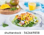 Tropical Salad With Prawns And...