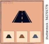 road icon  vector | Shutterstock .eps vector #562701778