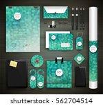 stationery design   identity... | Shutterstock .eps vector #562704514