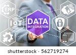 data integration iot... | Shutterstock . vector #562719274