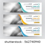 abstract web banner design... | Shutterstock .eps vector #562740940