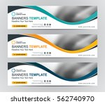 abstract web banner design... | Shutterstock .eps vector #562740970