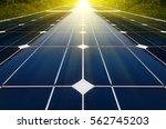 power plant using renewable... | Shutterstock . vector #562745203